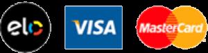 Cartões de crédito aceitos pela óptica vision